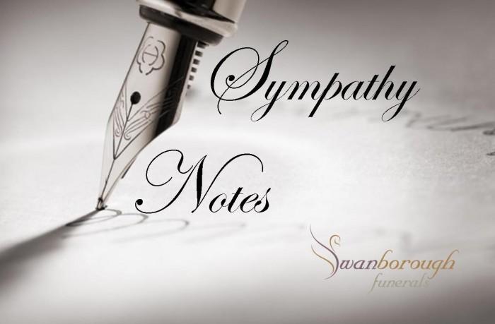 sympathy notes