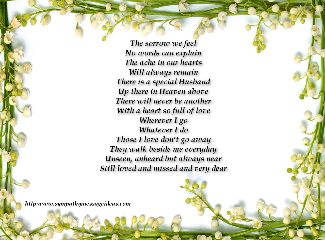 Sympathy verses sympathy card messages sympathy verses izmirmasajfo Image collections