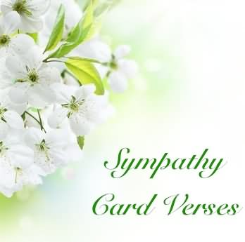 Sympathy Verses - Sympathy Card Messages