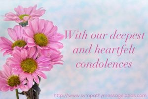 Funeral Flower Messages Image