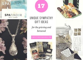 Unique Sympathy Gifts