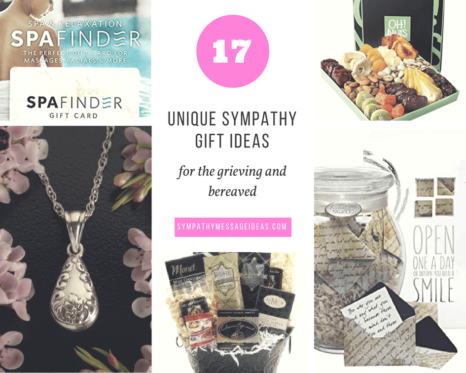 17 Unique Sympathy Gift Ideas