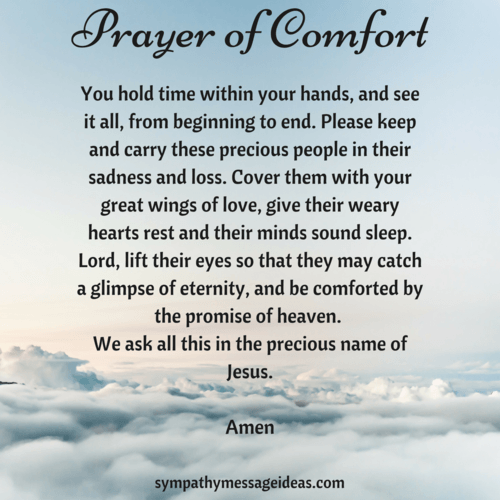 Sympathy Prayers: 23 Christian Ways to Pray for a Loss