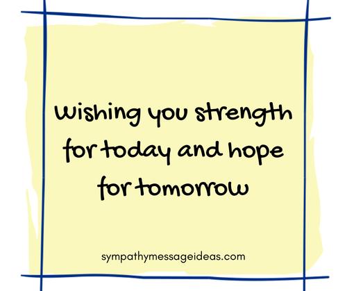 Sympathy Quote Image