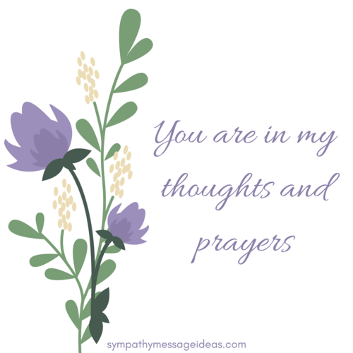 Image result for you are in my thoughts and prayers flowers