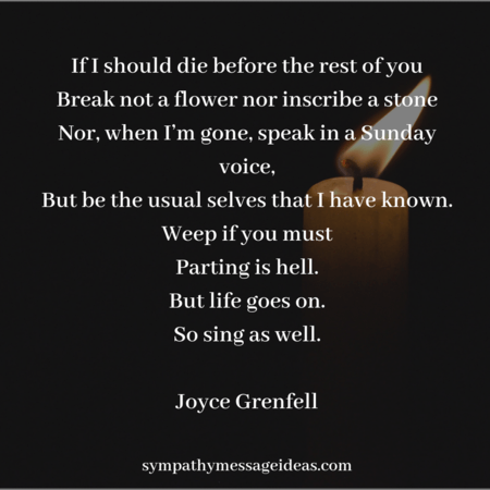 Funeral Poems 45 Beautiful Readings For Memorial Services