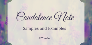 How to Write a Condolence Email: 12 Examples - Sympathy Card