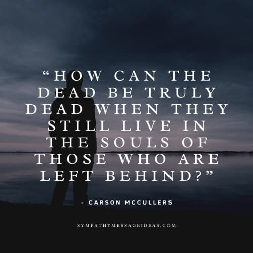 carson McCullers life and death quote