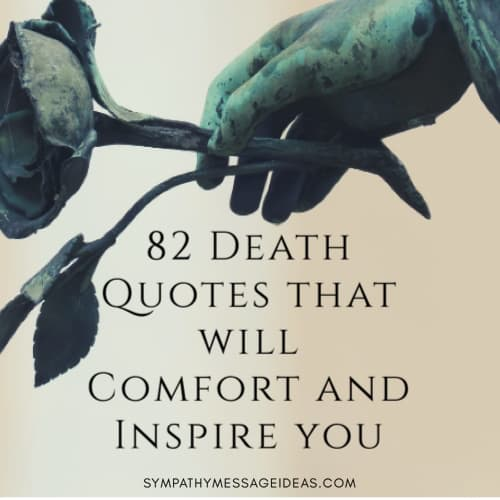 death quotes that will comfort and inspire