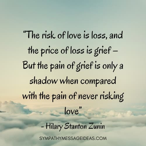 quote about grieving the loss of a loved one