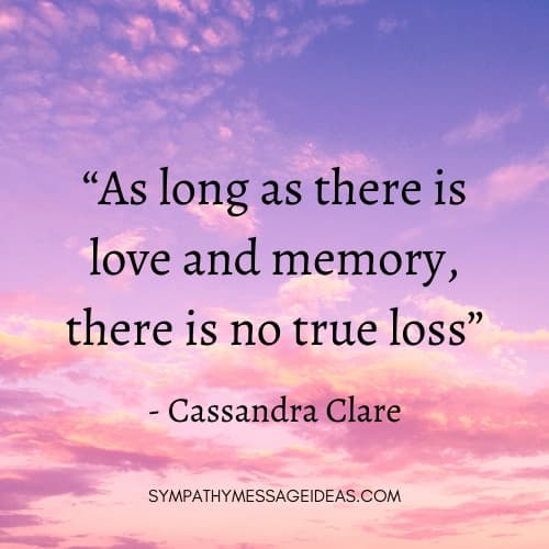 quote about remembering a lost loved one
