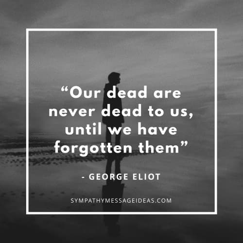 short death quote george eliot