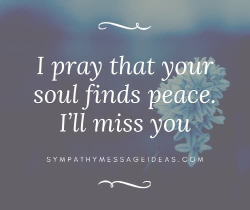 soul finds peace rip image