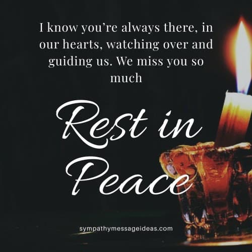 we miss you so much rest in peace quote
