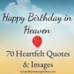 Happy birthday in heaven quotes and images