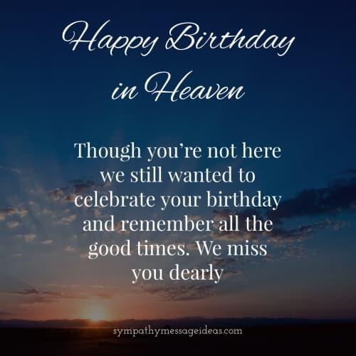 I miss you dearly happy birthday