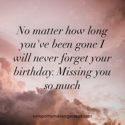 missing you so much birthday message