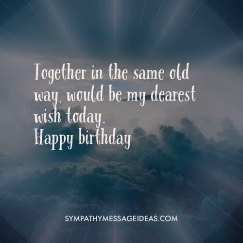 wish you happy birthday in heaven