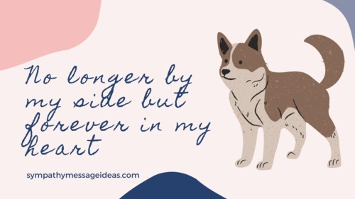 forever in my heart dog quote