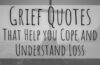 grief quotes that help you cope and understand loss