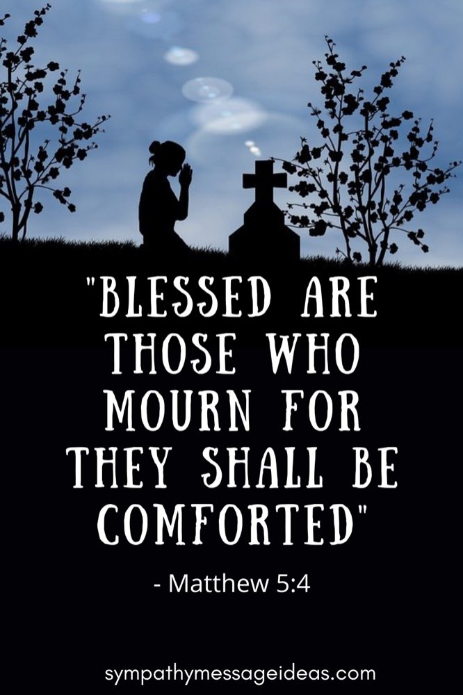 Matthew 5:4 grief Bible verse