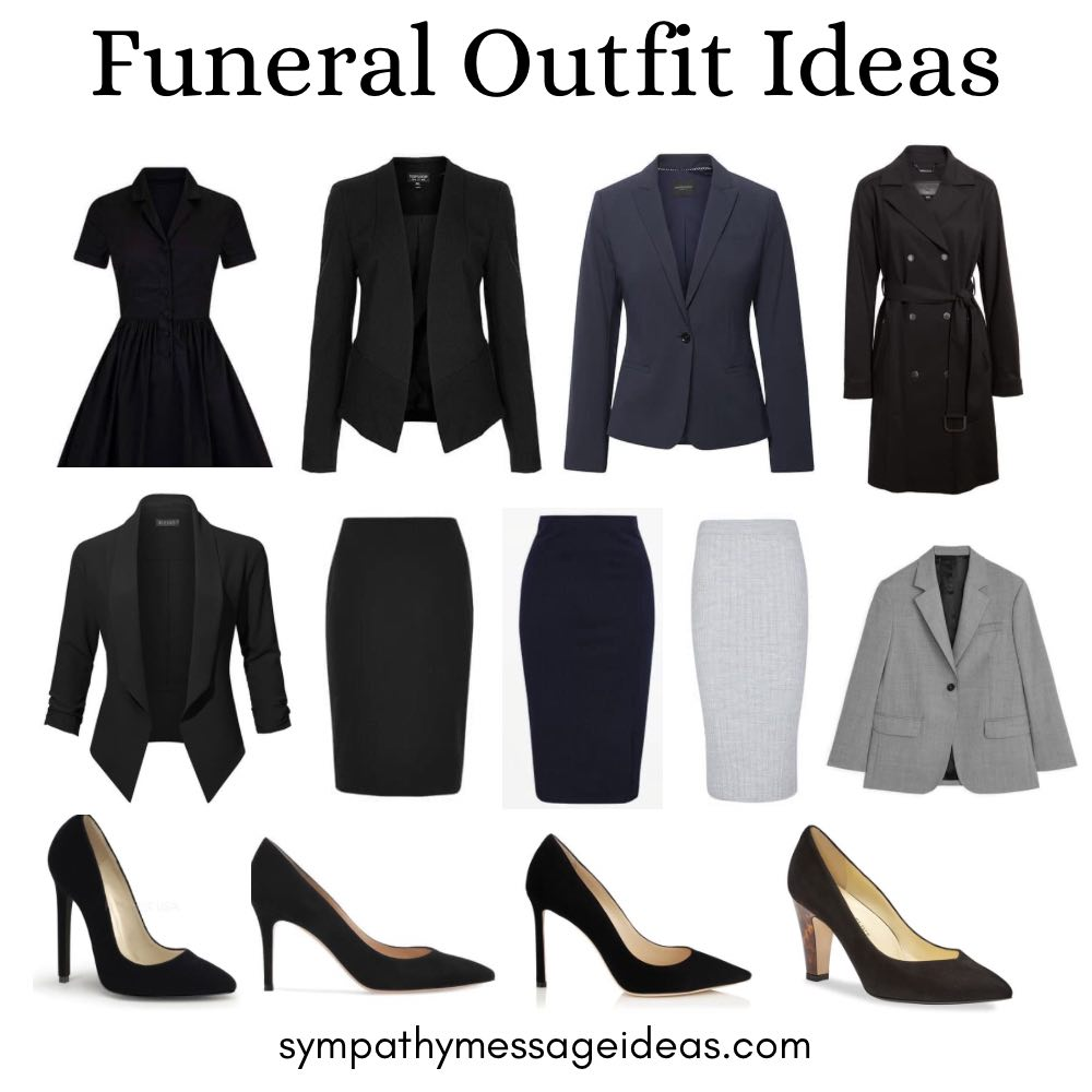 funeral outfit ideas for women