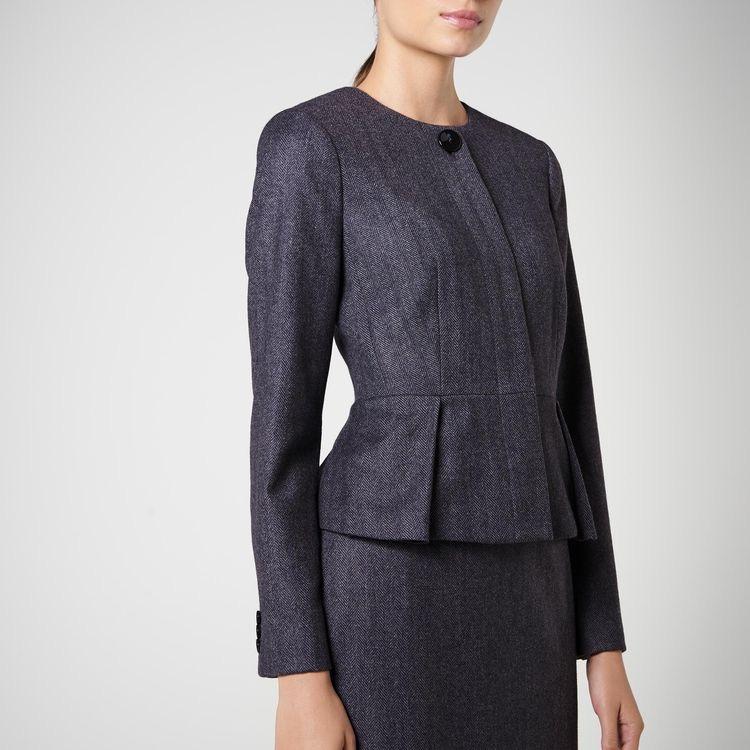 grey not black funeral attire