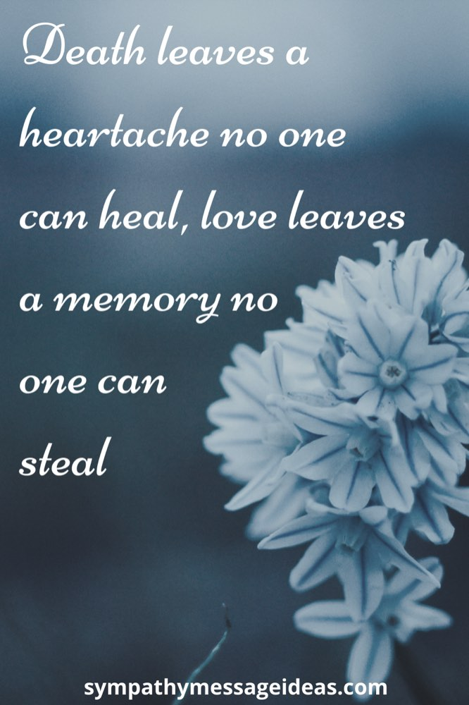 heartfelt in loving memory quote