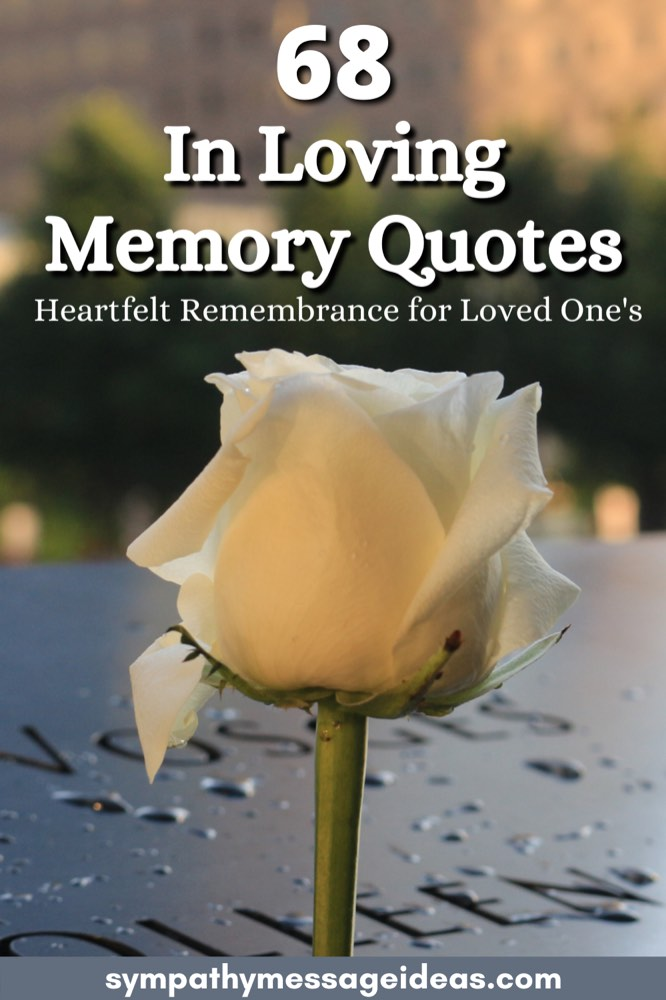 in loving memory quotes pinterest small