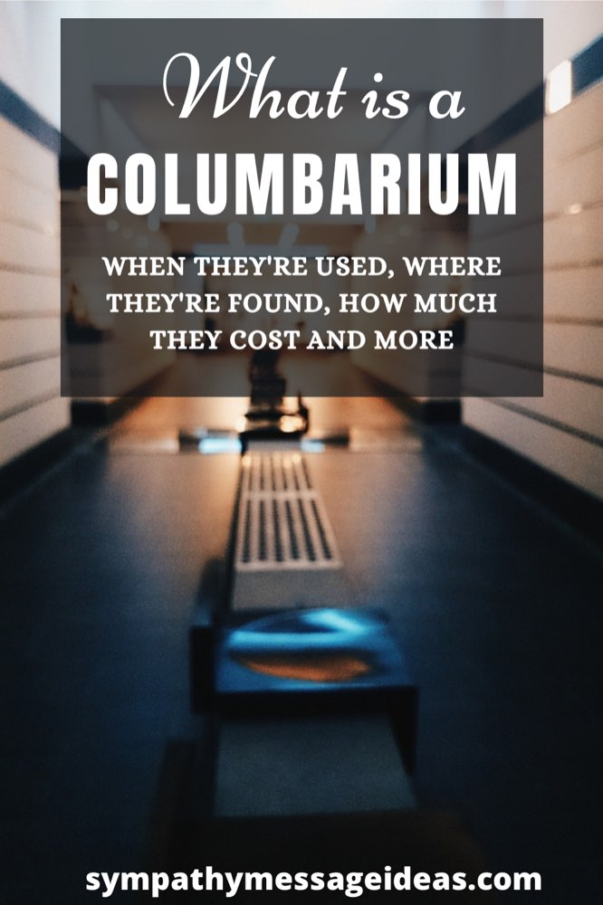 what is a columbarium