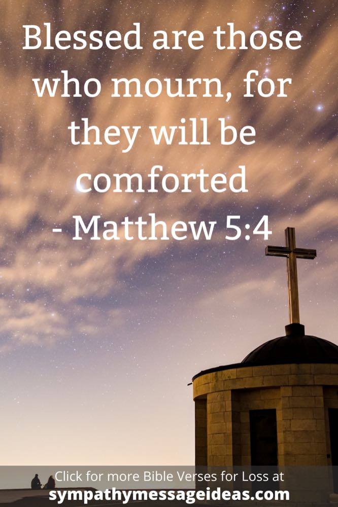 Bible verse about mourning