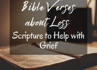 Bible verses about loss