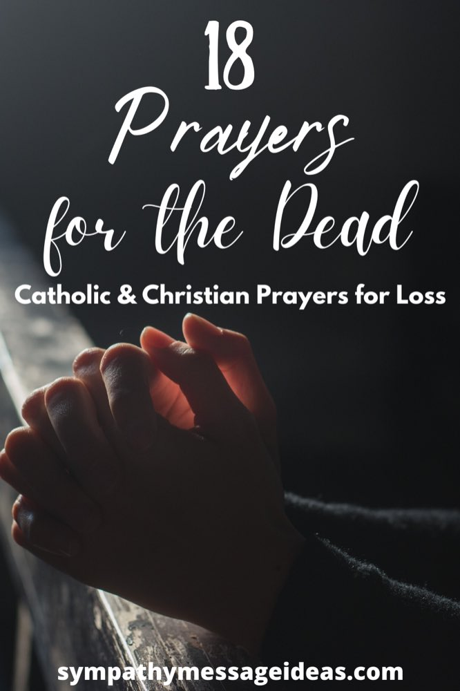 prayers for the dead Pinterest