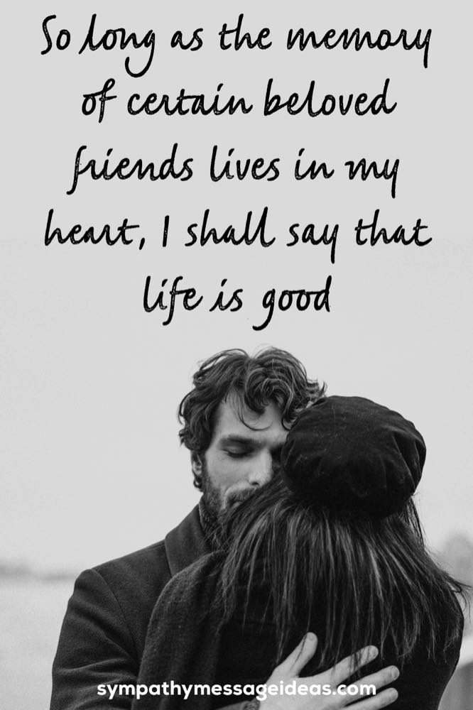 memory lives in my heart farewell quote for a friend