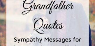 loss of grandfather quotes