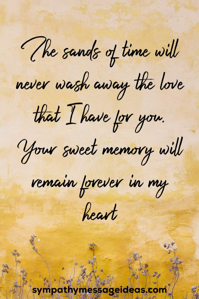 memory will forever remain in my heart quote