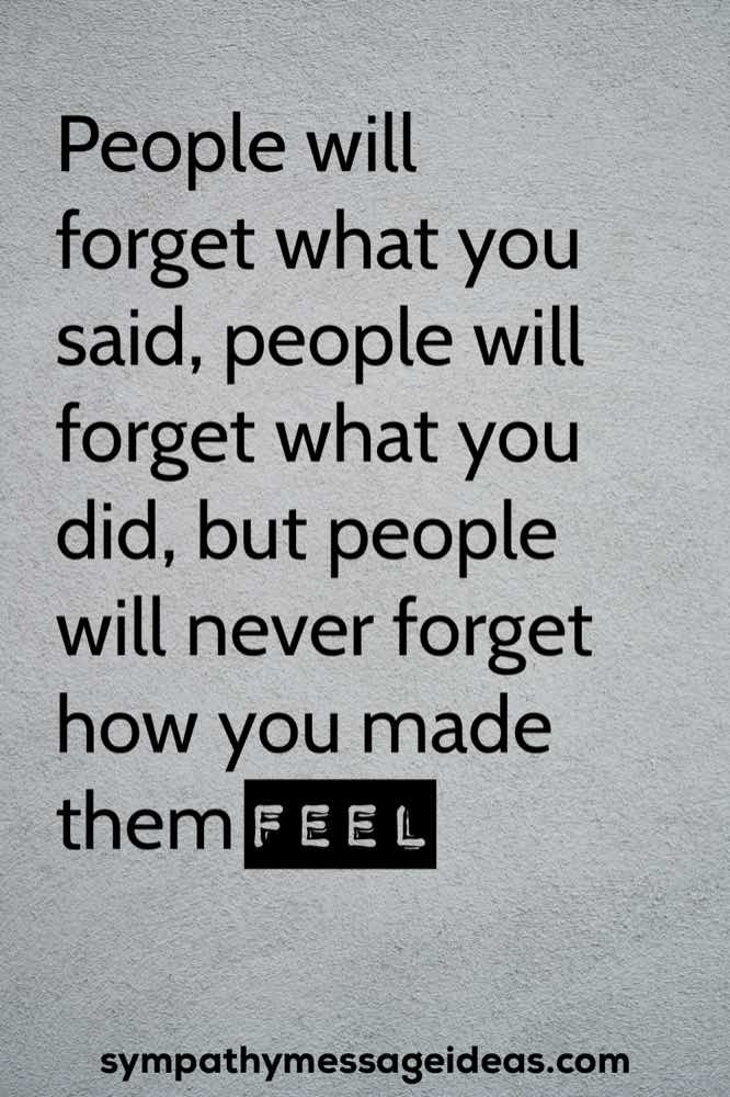 never forget life celebration quote