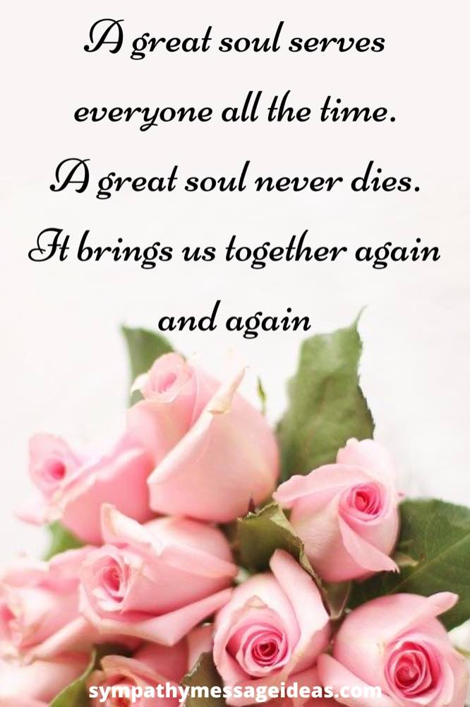 great soul sympathy quote