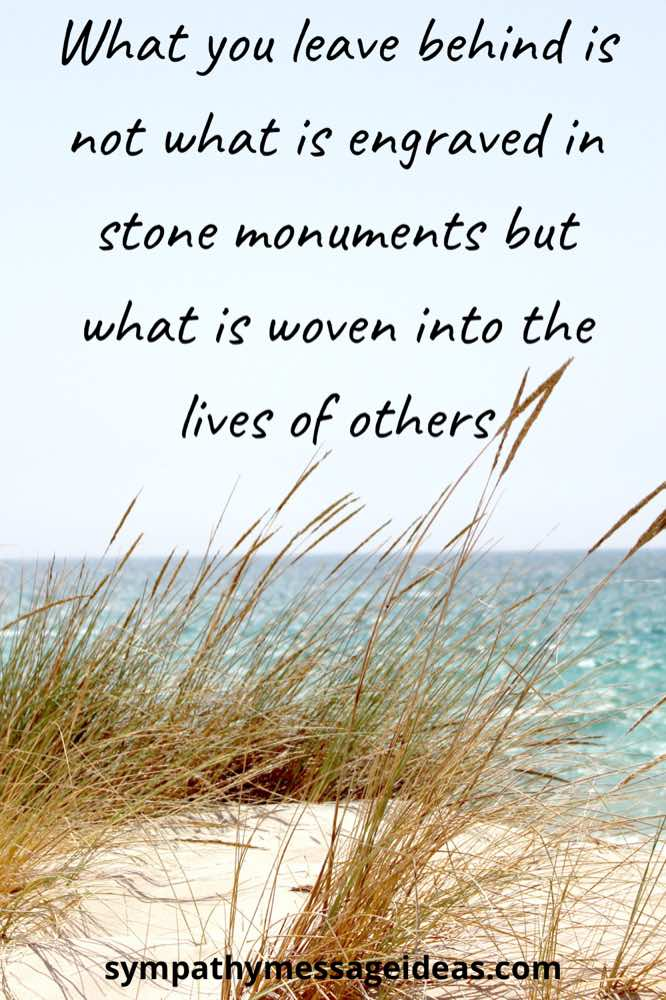 woven into the lives of others quote