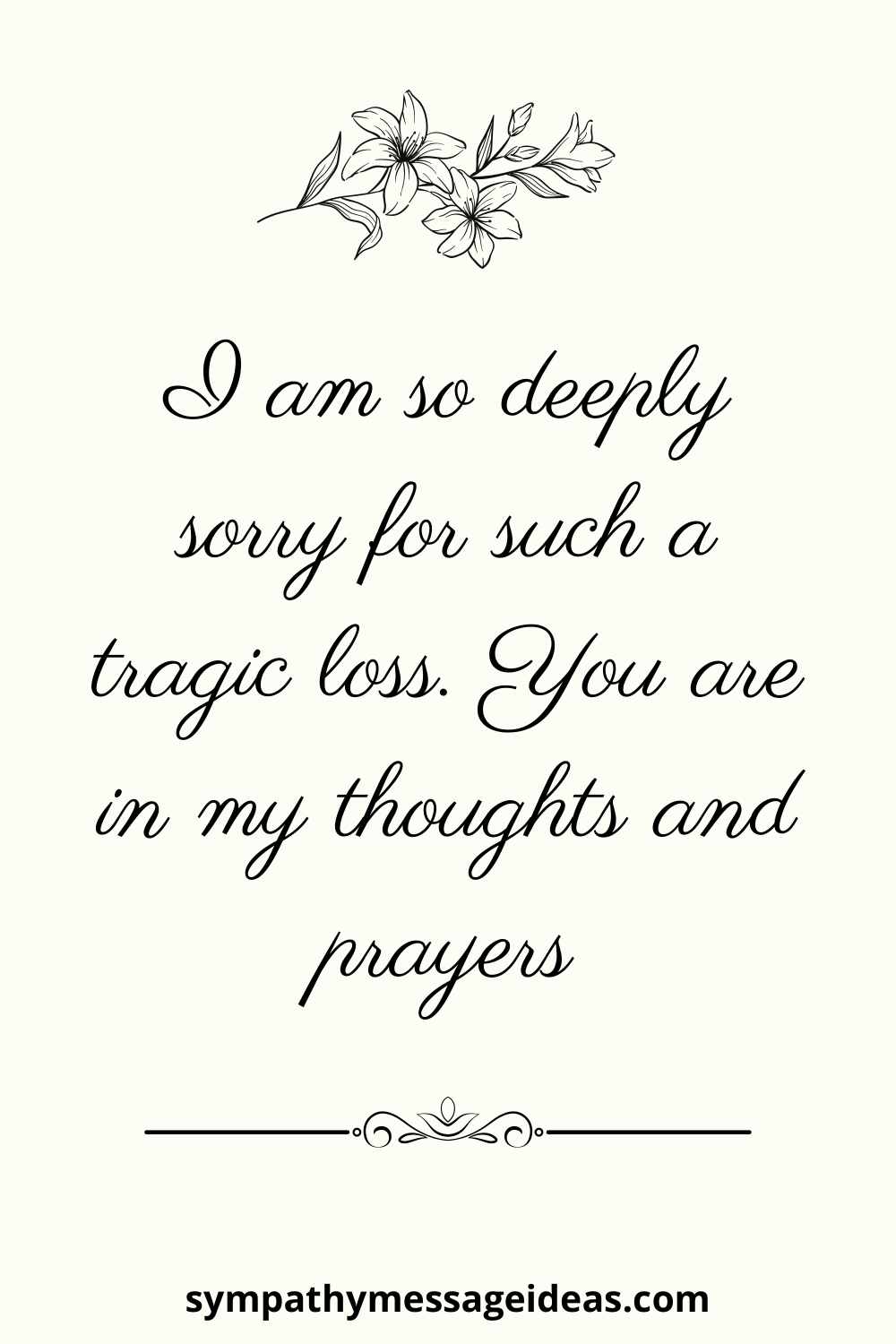 condolence text message for a loved one