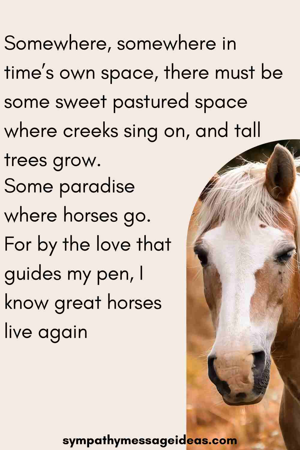 great horses love again quote