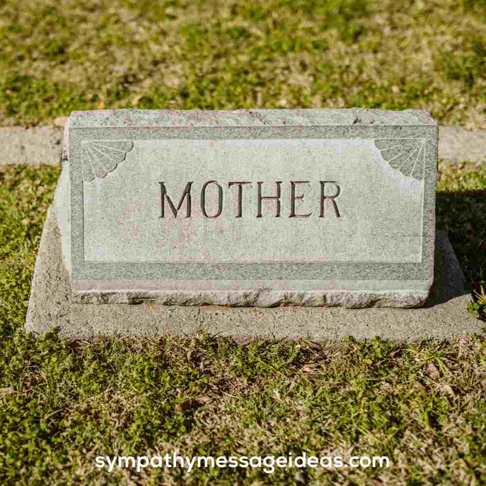 headstone quote for mom