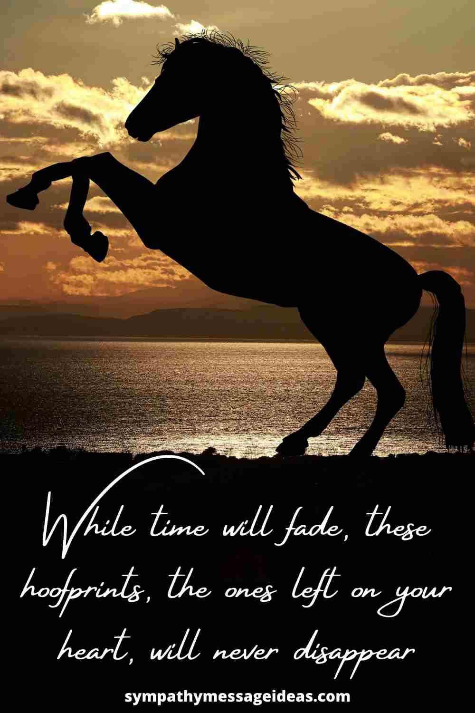 hoofprints on your heart quote