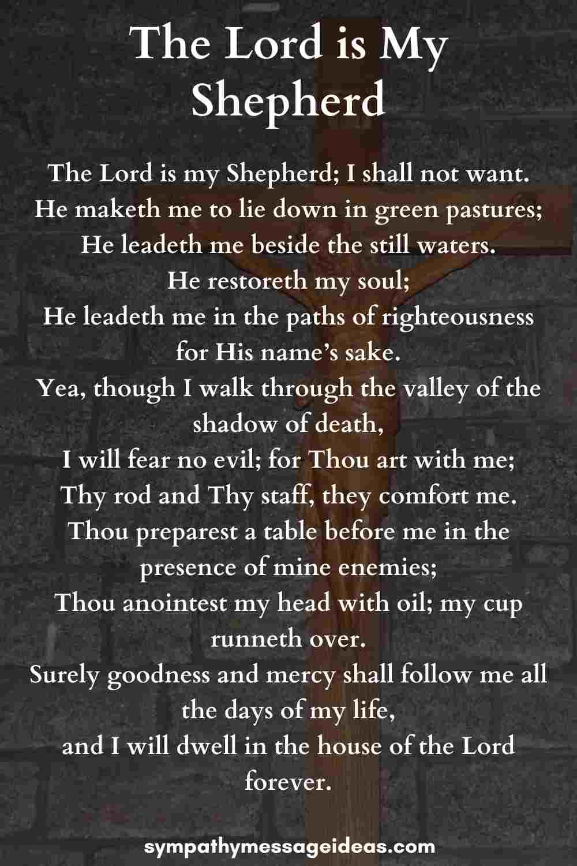 bible verse for a prayer