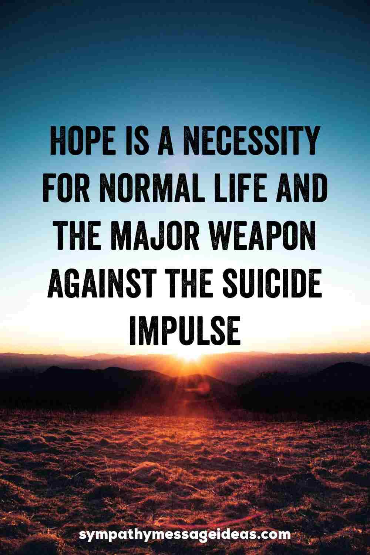 inspiring suicide quote