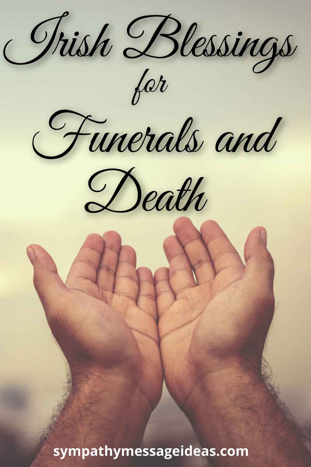 irish blessings for funeral and death