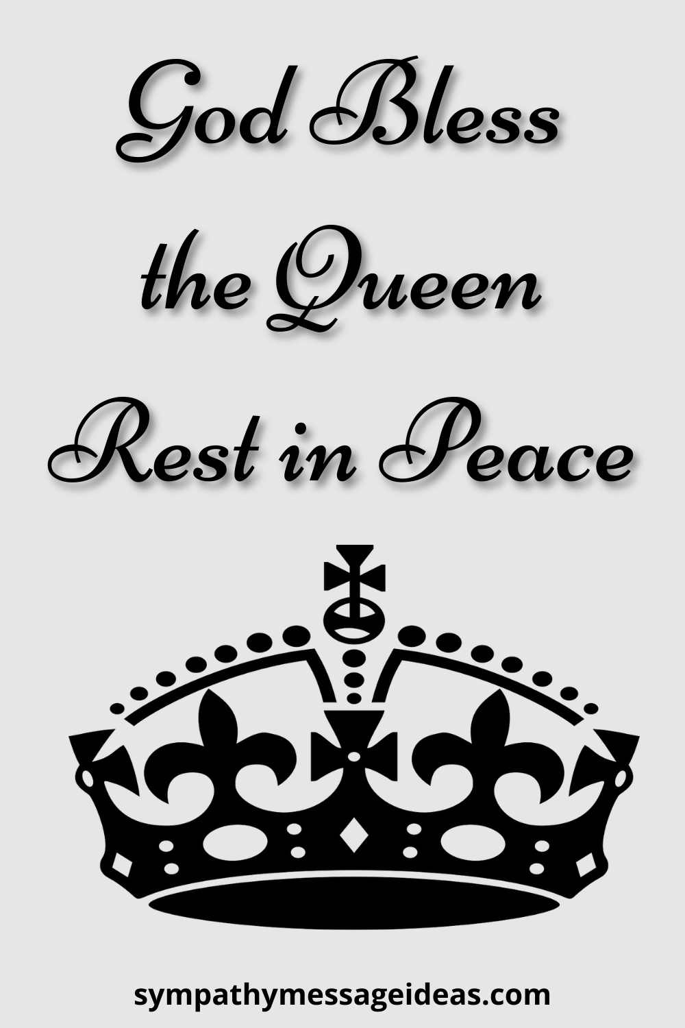 queen rest in peace message