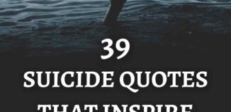 suicide quotes that inspire understanding and prevention