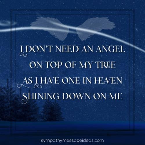 Christmas condolence quote