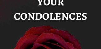 condolence etiquette tips